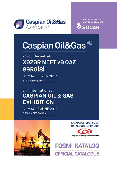 CASPIANOILGAS 2017 Official Catalogue